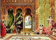 Garden Soloman a-royal-palace-in-morocco-benjamin-jean-joseph-constant